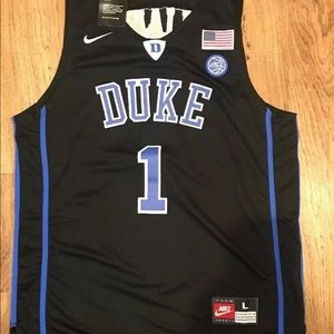 Shirts - Zion Williamson Duke Blue Devils Mens Jersey Large